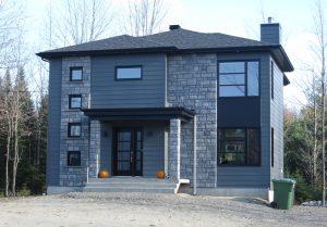 Maison deux étages style contemporain