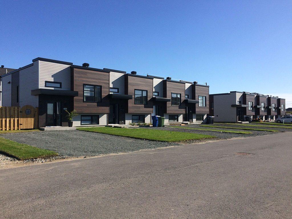 Plans pour maisons de ville et duplex