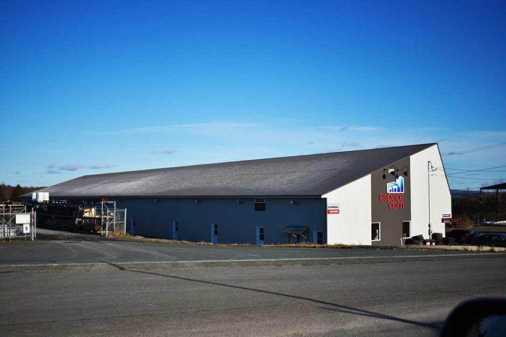 Plan bâtiment commercial Espace Com